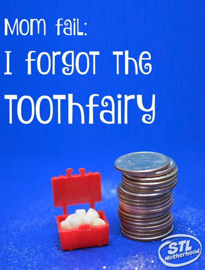 Mom Fail I Forgot the Tooth Fairy and a Free Printable