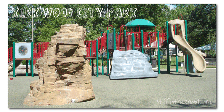 Kirkwood Park, one of the best parks in St. Louis