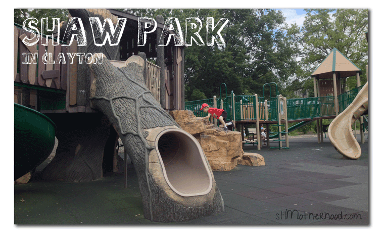 Shaw Park, one of the best parks in St. Louis