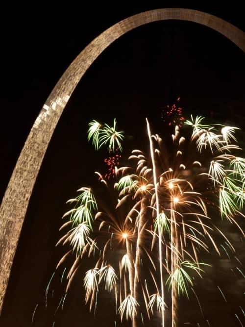 Fireworks St. Louis