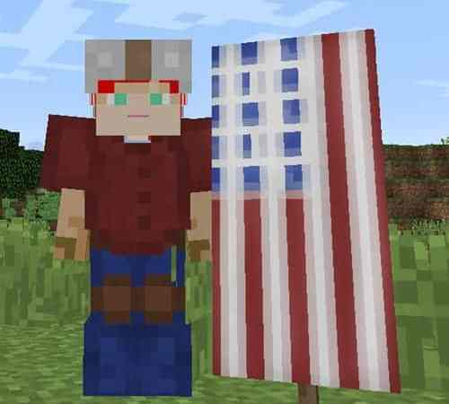Minecraft Monday: Make An American Flag
