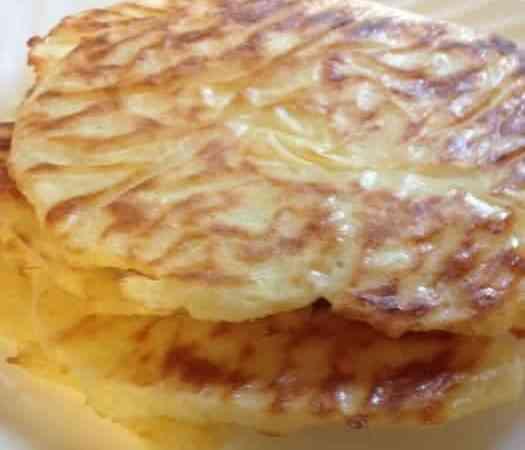 Hankering for Hacienda: Low Carb Cheese Tortillas