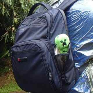 Blogger v Rain Forest: Tech Bag Saves the Day