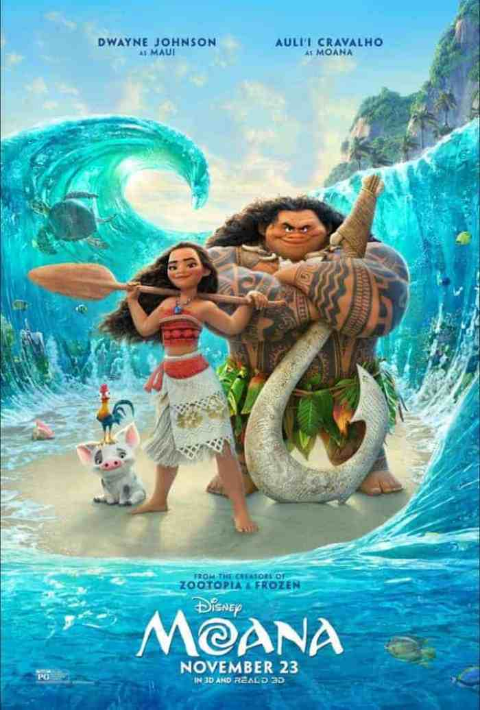 Moana Disney movie poster