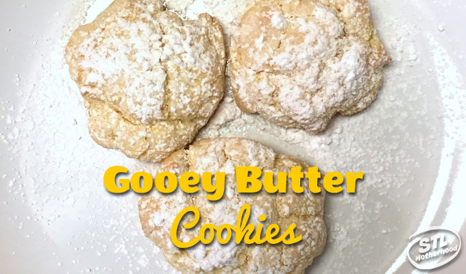 St. Louis Style Gooey Butter Cake Cookies