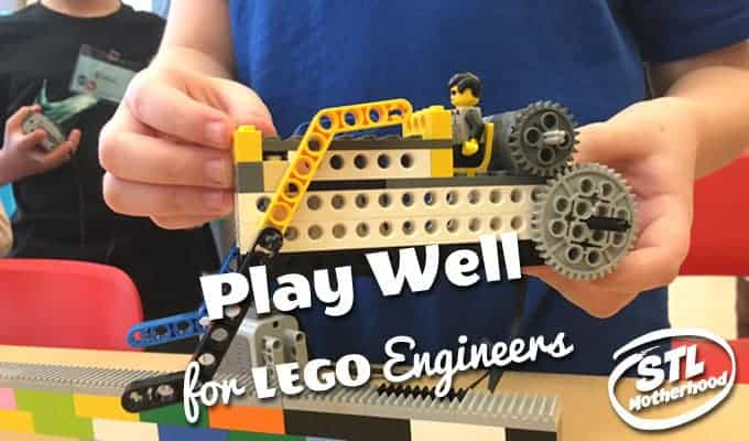 Play-Well LEGOs for St. Louis Kid Engineers