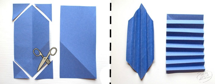 cut and fold paper