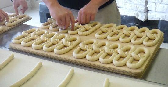 philly pretzel hand made