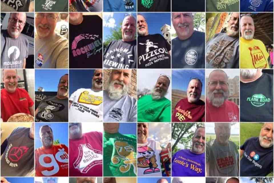 pictures of Mike Arnold, the Gus Gus Fun Bus guy