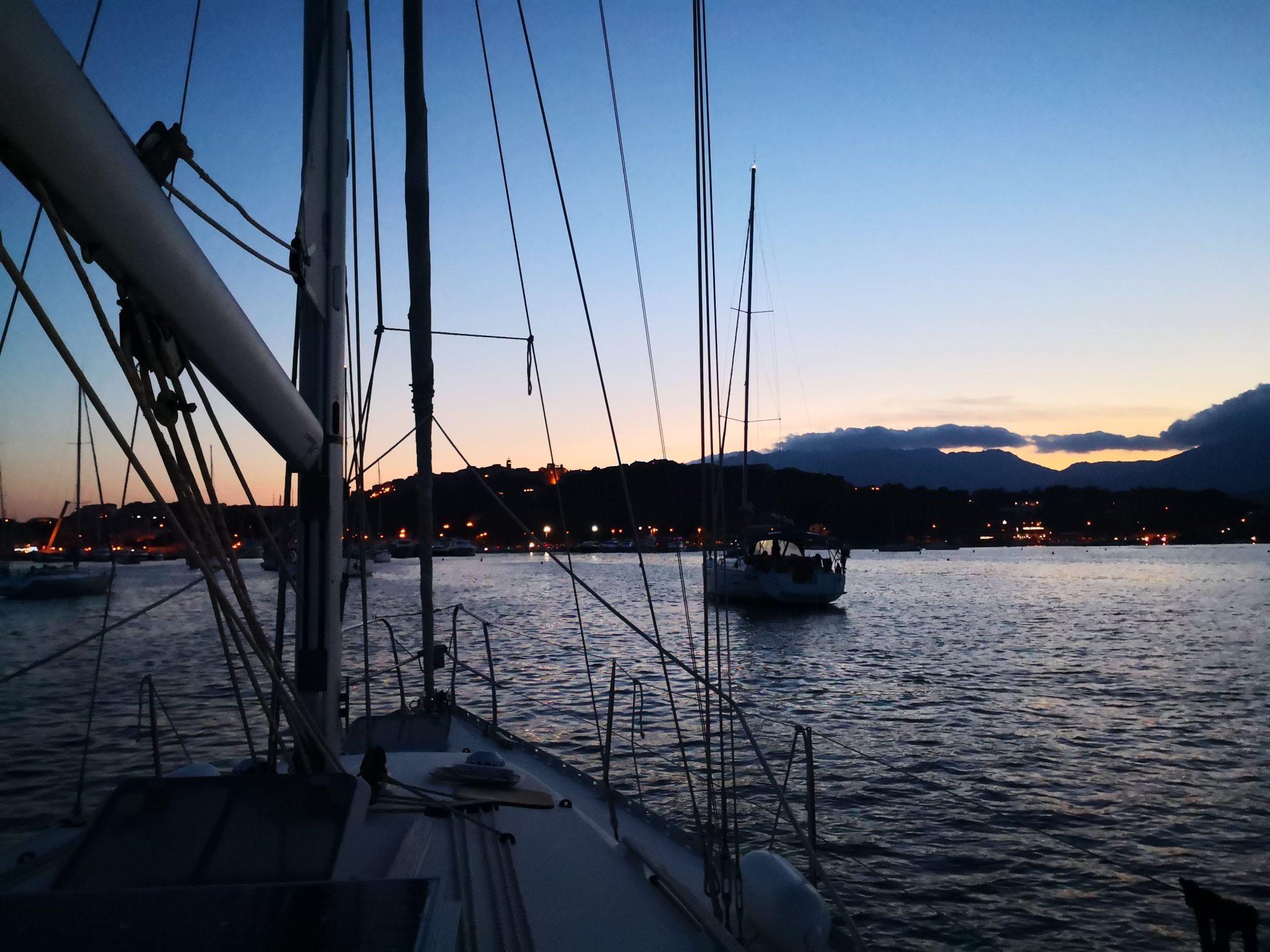 Nuits sur un voiliers