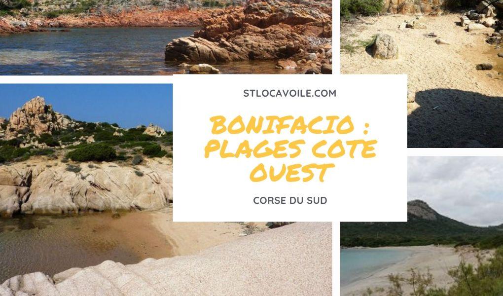 bonifacio-plages-côte-ouest
