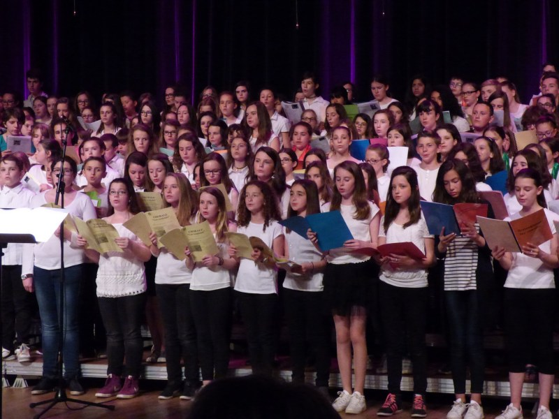 Rassemblement des chorales mardi 17 mai