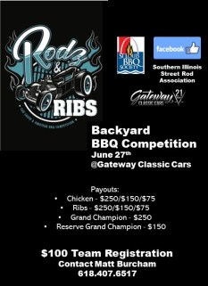 Rodz n Ribs Flyer BBQ Detail