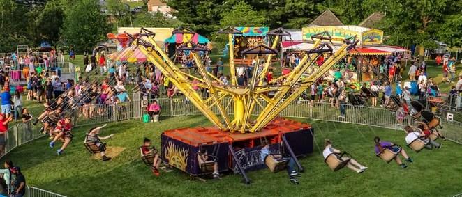 Amusement Rids at Ballwin Days