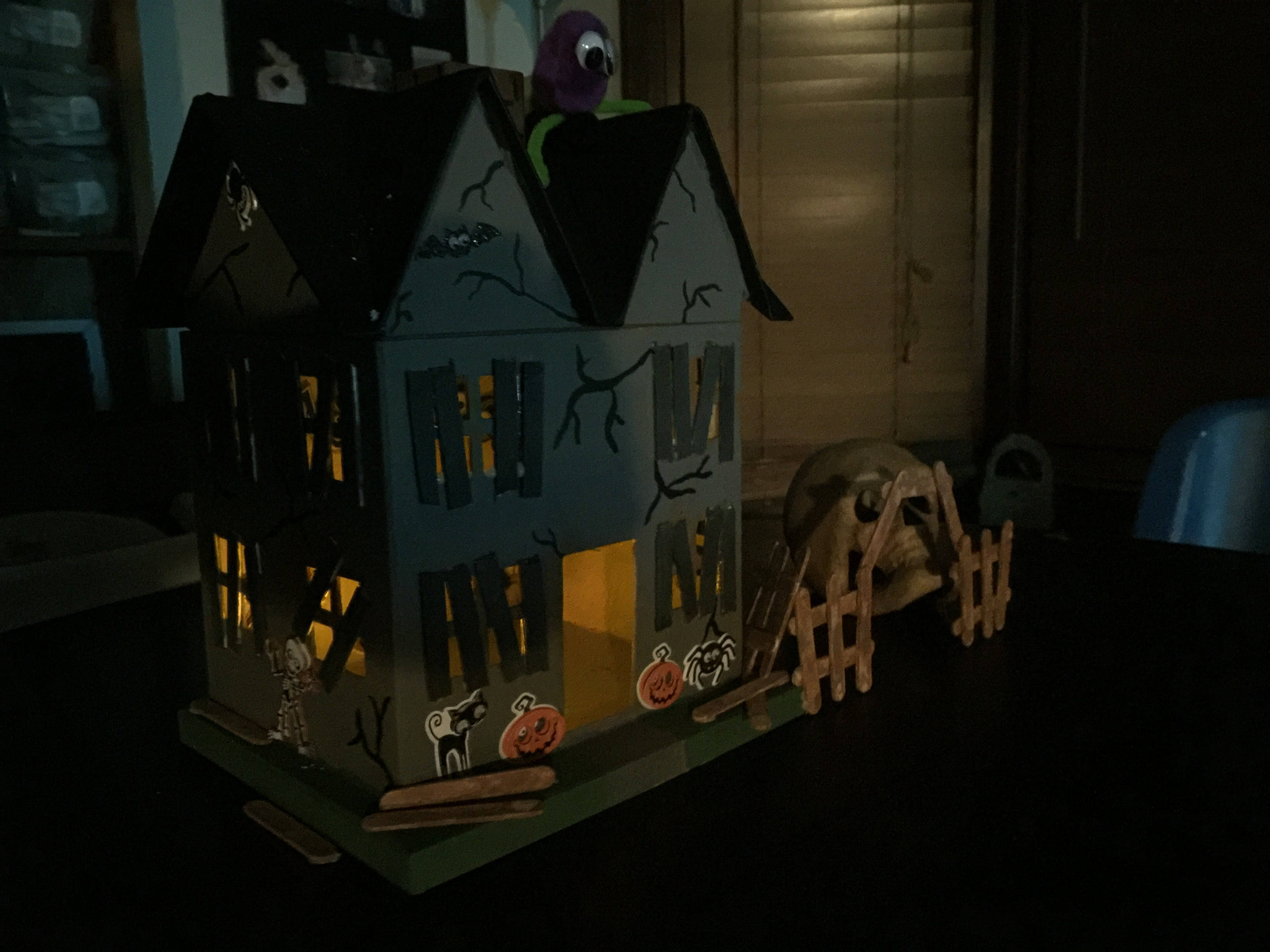 A Crafty Halloween Haunted House St Louis Dad