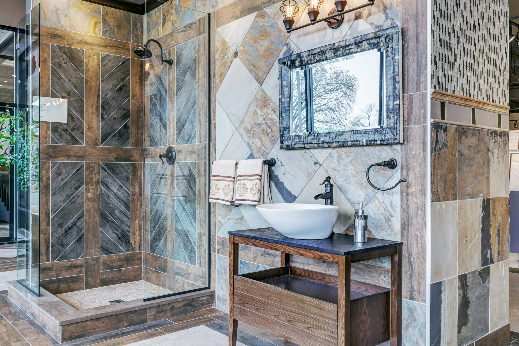 mix decorative tile with your decor
