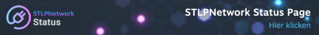 STLPNetwork Status Page Banner