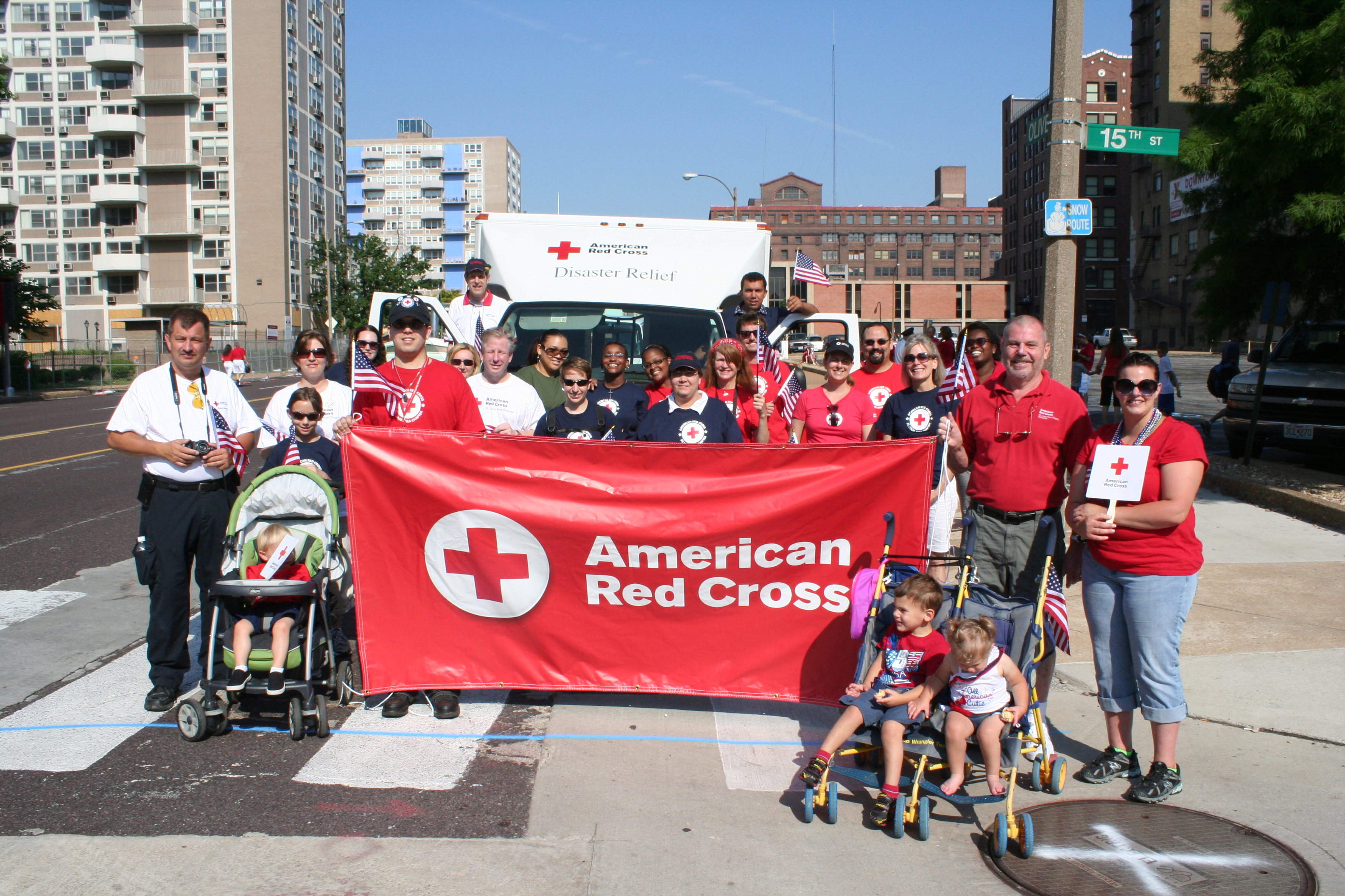 A Happy 4th Of July With The American Red Cross
