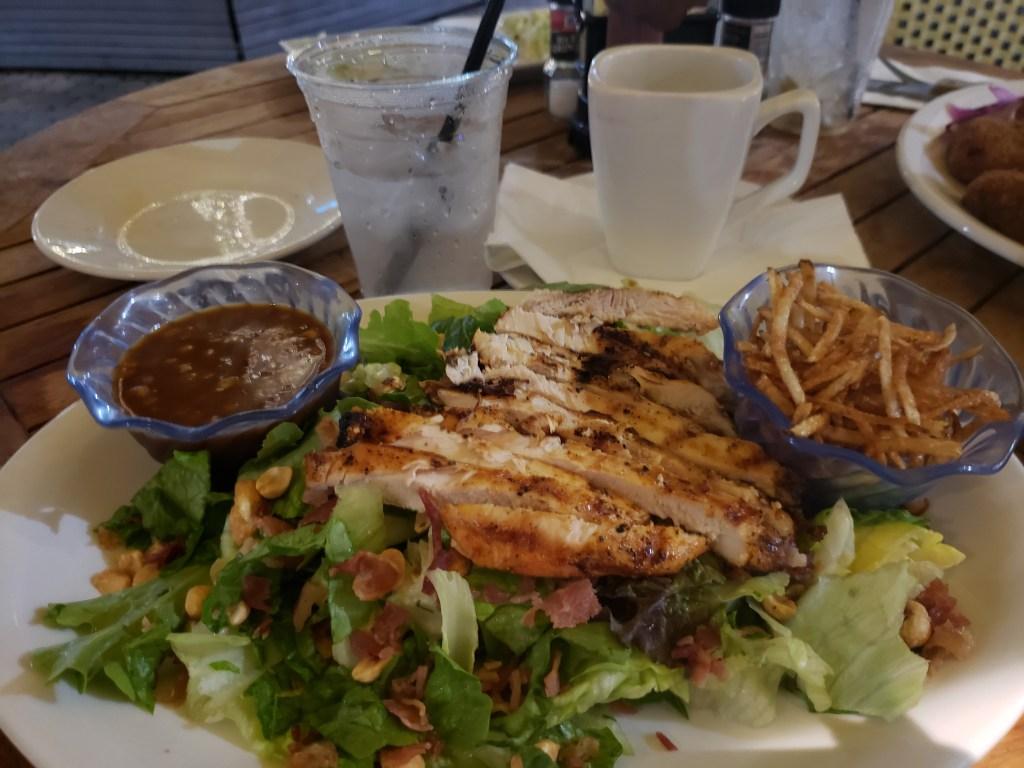 Jumby Chicken Peanut salad