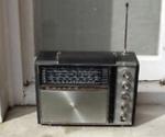 radio in kitchen