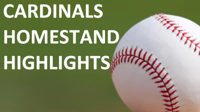 Cardinals Homestand Highlights Schedule And Promotions Aug