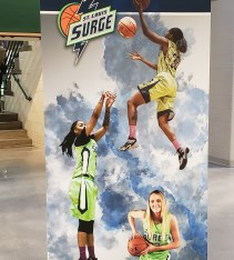 Surge poster with Brittany