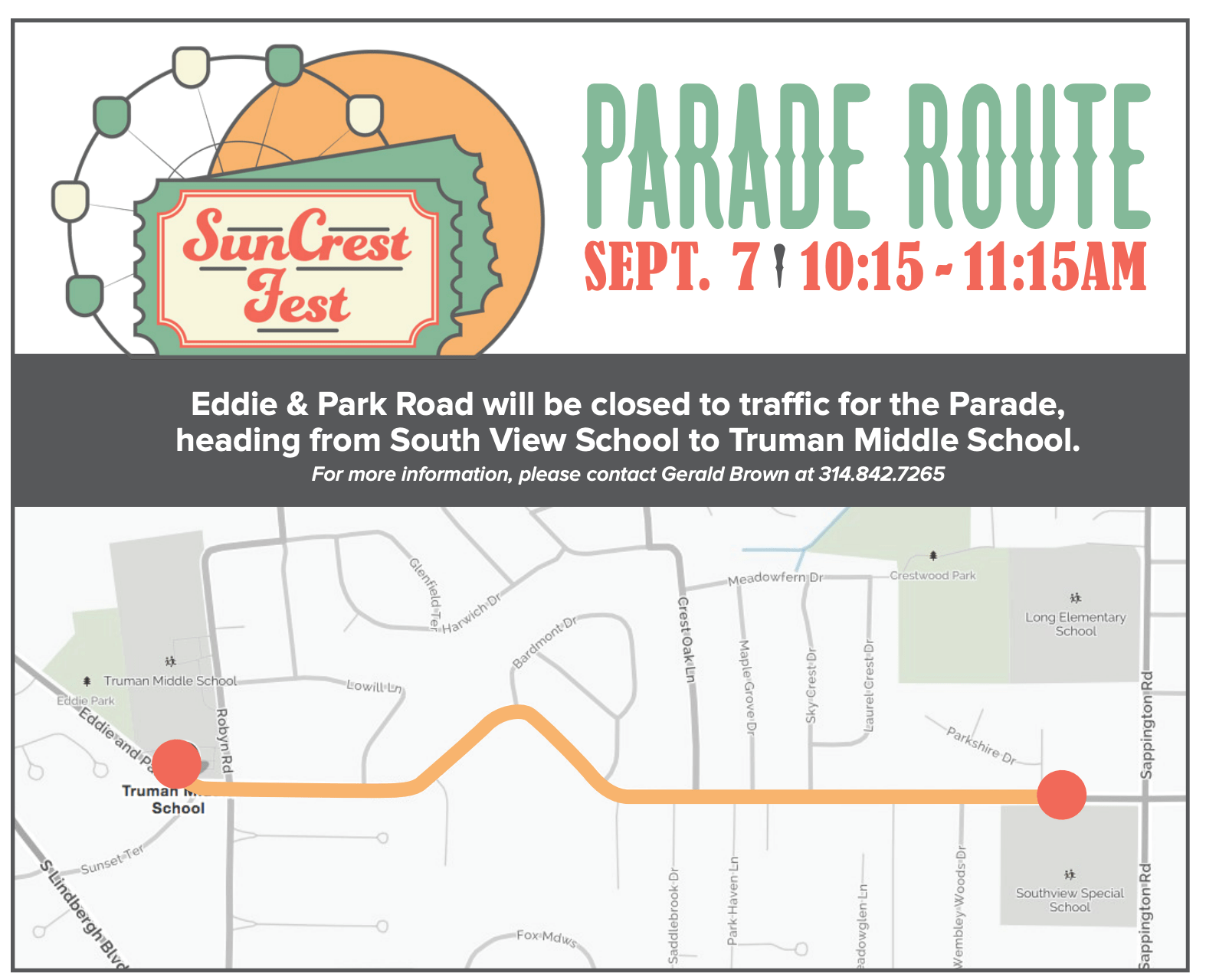 Suncrest Fest Parade Route.png