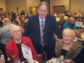 Bill Virdon, Shirley, Rob at HOF 2020