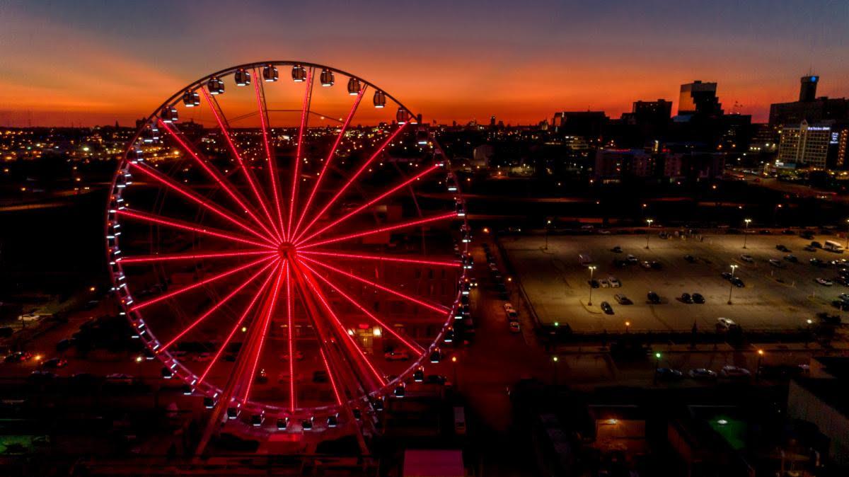 wheel in the dark