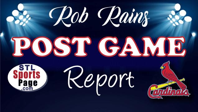 Rob Rains Game Reports