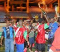 The champagne was flowing when Vieux Fort South captured the Veterans Football Tournament.