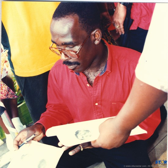 Kenneth John(deceased): In 1998 he lost his life while trying to save a drowning couple in the waters off Grande Anse. This week over a hundred students, who had never heard of his courageous act, misidentified him as Philip J Pierre.