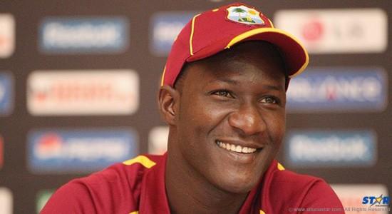 West Indies All Rounder Darren Sammy
