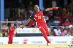 Celebrating Red Victory: Trinidad & Tobago Red Steel (137-1) beat St. Lucia Zouks (136-9) by 9 wickets with 32 balls remaining