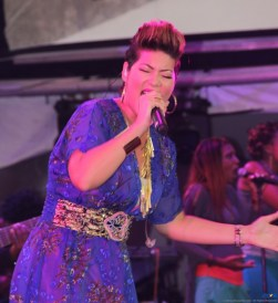 The Voice Winner, Tessane Chin, won over many fans at Saint Lucia Jazz & Arts 2014.