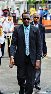 Castries East MP Philip J. Pierre: Last week he told reporters, in effect, that he remained  unconcerned about negative public reaction to him, unless it was from residents  of his constituency!