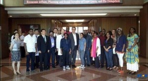 PM with Ishou School of Medicine students.