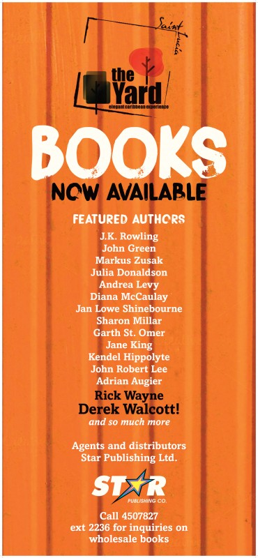 THE YARD Books Banner