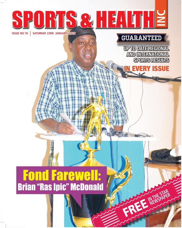 Sports & Health Magazine Inc. Saturday 23rd January, 2016 - Issue no. 76