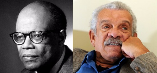 Sir Arthur Lewis and the Hon. Derek Walcott - Saint Lucia's two Nobel Laureates whose achievements are being celebrated.
