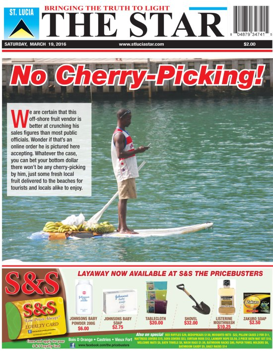 The STAR Newspaper Saturday March 19th, 2016 ~ Image of the Week