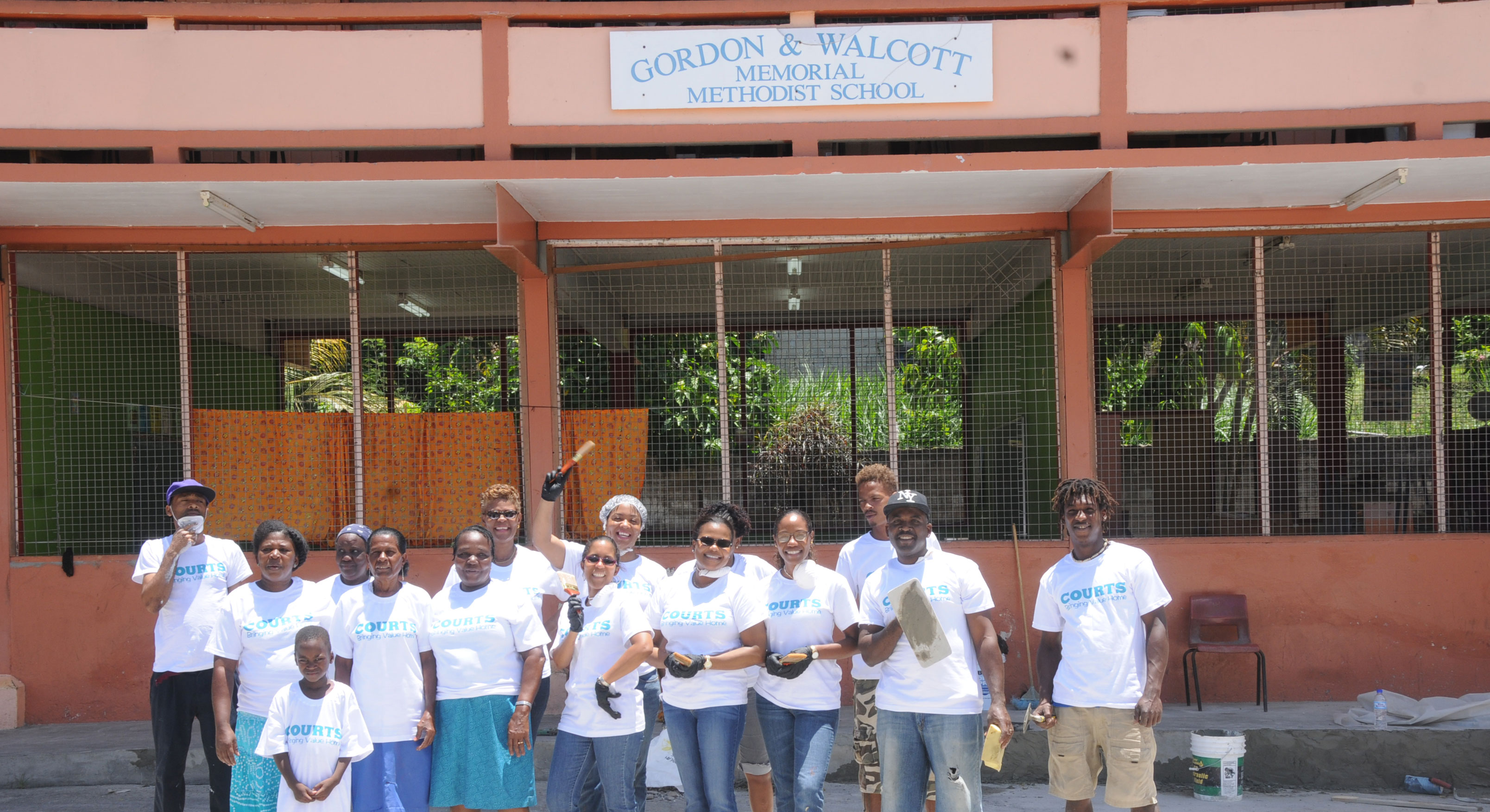 Courts Celebrates Volunteer Week 2016 The St Lucia STAR