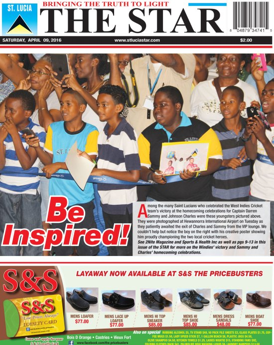The STAR Newspaper for Saturday April 9th, 2016 ~ Image of the Week