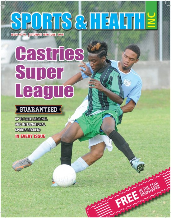 Sports & Health Magazine Inc. for Saturday June 18th, 2016 ~ Issue no. 97