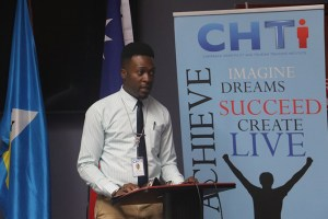 Mr. Mervin-Alwyn Agiste, CHTTI Junior Program Manager
