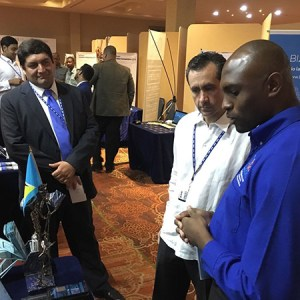 Left to right, Luis - Viguria - Youth Business Trust, Jorge Familiar - World bank, Vernon Jean – Easy Click Books