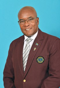 Lion Sherwin Greenidge MJF - District Governor Sub Disrict 60B