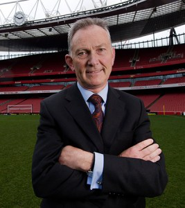Executive Chairman of the Premier League, Richard Scudamore