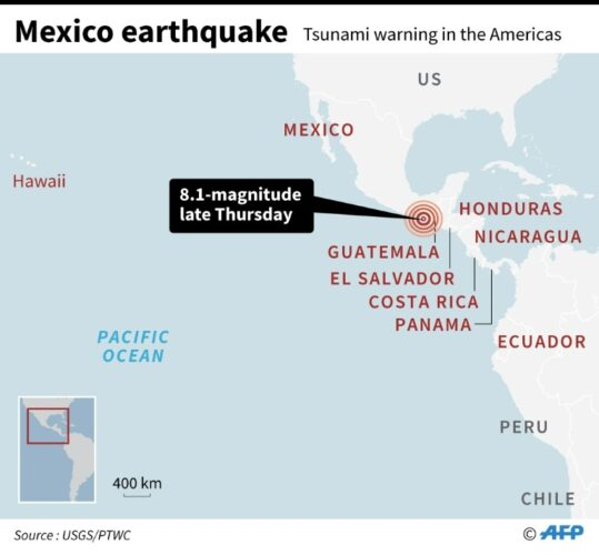 Death Toll Rises After 8.2 Magnitude Earthquake Strikes Mexico