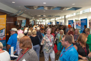 Travel Agents mingle during a recent Unveiling event